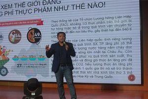 FoodBank Việt Nam tổ chức hội thảo 'Lãng phí thực phẩm và trách nhiệm của người trẻ'