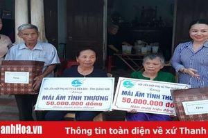 Hội LHPN tỉnh Quảng Nam thăm, tặng quà cho các gia đình chính sách tại tỉnh Thanh Hóa
