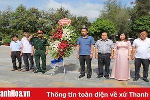 Đoàn đại biểu tỉnh Thanh Hóa dâng hương, viếng các nghĩa trang liệt sỹ tại tỉnh Tây Ninh và TP Cần Thơ