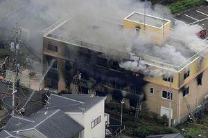 Toàn cảnh vụ cháy xưởng phim hàng chục người chết ở Nhật