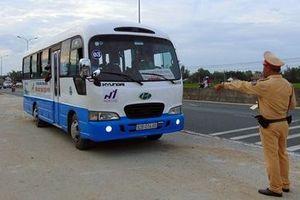 Quảng Nam tổng kiểm soát phương tiện trên các tuyến đường bộ