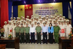 Bắc Ninh điều động 202 cán bộ Công an chính quy đảm nhiệm chức danh Công an xã