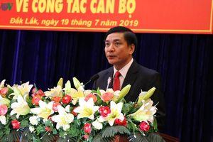 Điều động ông Bùi Văn Cường giữ chức Bí thư Tỉnh ủy Đắk Lắk