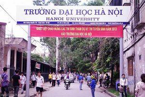 Đại học Hà Nội công bố điểm sàn xét tuyển