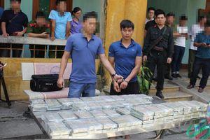 Ôtô chở 100 bánh heroin bị cảnh sát phát hiện