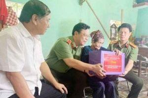 Thanh Hóa: Giám đốc Công an tỉnh thăm các gia đình thương, bệnh binh