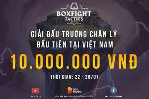 Giải Đấu Trường Chân Lý đầu tiên tổ chức ở Việt Nam, quy tụ nhiều streamer nổi tiếng tham gia