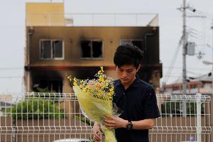 Nghi phạm phóng hỏa xưởng phim Nhật từng đi tù và điều trị tâm thần