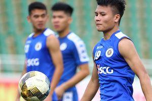 Quang Hải và đồng đội sẵn sàng đòi món nợ thua 2-5 trước Sài Gòn