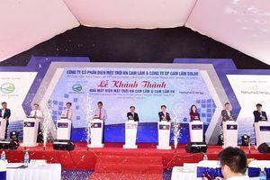 Khánh thành nhà máy năng lượng mặt trời lớn nhất tỉnh Khánh Hòa