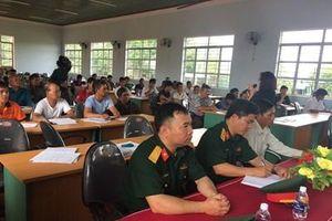Phối hợp tổ chức hội nghị phổ biến giáo dục pháp luật trên vùng biên giới