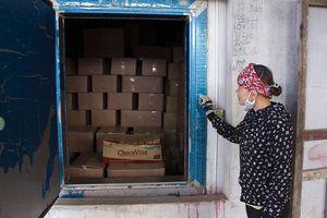 Hàng trăm tấn cá khô ứ đọng tại Quảng Trị