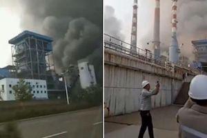 Nổ nhà máy sản xuất khí hóa ở Trung Quốc, 20 người thương vong