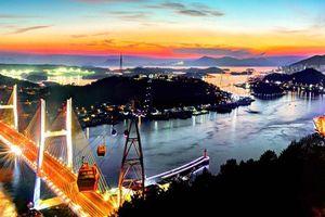 Cầu Dolsan lung linh về đêm, quyến rũ các tín đồ du lịch Hàn Quốc