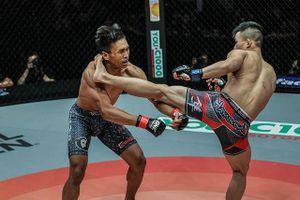 Pha tung cước 'thần sầu' khiến võ sĩ MMA bật ngửa