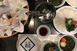 Ăn cá lóc (fugu) ở Tokyo