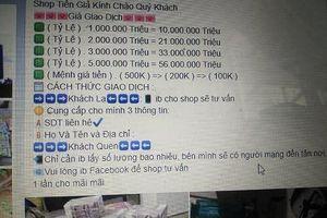 Đắk Nông: Triệt phá đường dây sản xuất, lưu hành tiền giả liên tỉnh