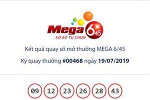 Xổ số Vietlott Mage 6/45: 19 người hụt giải Jackpot hơn 16 tỷ đồng ngày hôm qua?