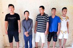 Hà Tĩnh: Bắt giữ 6 con bạc dưới hầm ngầm quán cà phê