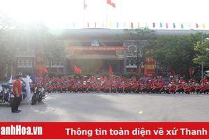 Diễu hành, tuyên truyền lưu động chương trình Hành trình đỏ - Kết nối dòng máu Việt