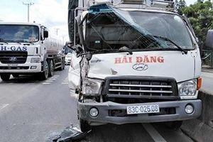 Đường dẫn cao tốc TP.HCM – Trung Lương ùn tắc sau tai nạn