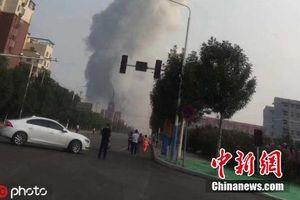 Vụ nổ nhà máy khí hóa ở Trung Quốc: 2 người chết, 12 người mất tích