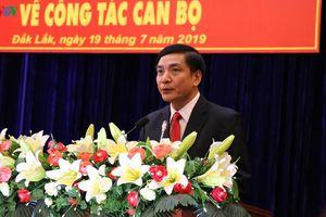 Chân dung tân Bí thư Tỉnh ủy Đắk Lắk Bùi Văn Cường