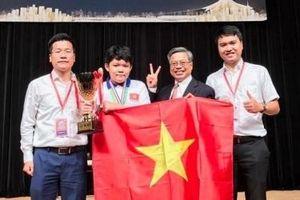 3 thí sinh đạt giải kim cương trong cuộc thi toán quốc tế WMI