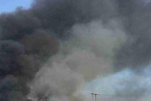 Cháy lớn tại Công ty May mặc Makalot Việt Nam