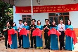Binh đoàn 15 : Khánh thành, trao tặng hai ngôi nhà cho đối tượng chính sách