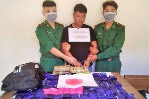 Bắt giữ nghi phạm vận chuyển hơn 24.000 viên ma túy từ Lào về Việt Nam