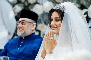 Tin sốc về cuộc hôn nhân của cựu vương Malaysia cưới vợ hoa hậu