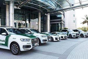Ô tô dán tem cảnh sát Dubai sẽ không được đăng kiểm