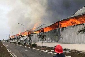 Cháy Công ty may mặc Makalot Việt Nam tại Hải Dương