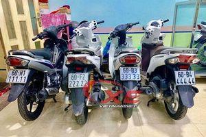 Ngắm bộ sưu tập 9 xe máy biển ngũ quý của 9x Đồng Nai