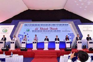 Khánh thành hai nhà máy điện mặt trời tổng vốn 2300 tỷ đồng tại Khánh Hòa