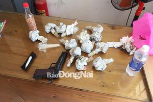 Triệt phá tụ điểm mua bán ma túy ở Trảng Bom