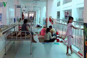 Bệnh sốt xuất huyết vào mùa: Bệnh viện Nhi đồng Cần Thơ quá tải