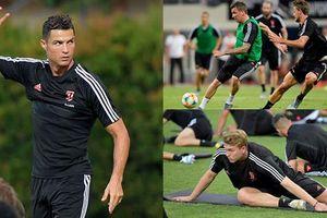 Ronaldo dốc sức tập luyện, Juventus sẵn sàng trình diễn 'Sarri-ball'