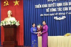 Hà Nam có Bí thư Tỉnh ủy mới