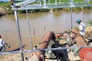 Phú Yên: Gồng mình lấy nước sản xuất vụ hè thu