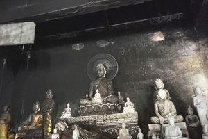 Xảy ra cháy ở chùa Tà Bết, 150 tượng Phật bị hư hỏng