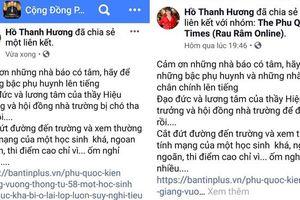 Hiệu trưởng bị 'Á khôi doanh nhân' xúc phạm trên mạng xã hội bất ngờ lên tiếng