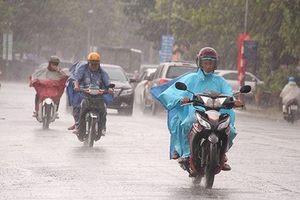 Ngày mai Hà Nội bắt đầu đợt mưa vài ngày