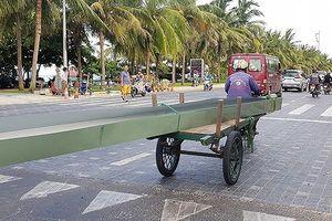 Đà Nẵng tăng cường ra quân xử lý xe thô sơ, xe tự chế