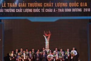 Trung tâm kỹ thuật TCĐLCL Quảng Ninh được tặng Giải thưởng Chất lượng Quốc gia