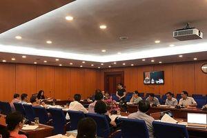 Bộ Tài chính họp trực tuyến bàn về dự thảo thông tư trị giá hải quan