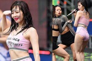 Biểu tượng sexy HyunA bị chê 'rẻ tiền', lộ vòng 3 kém săn chắc