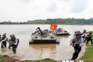 Hải quân đánh bộ - lực lượng tinh nhuệ của hải quân Việt Nam
