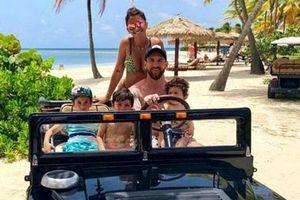 Cận cảnh kì nghỉ hè sang chảnh thượng hạng của Messi